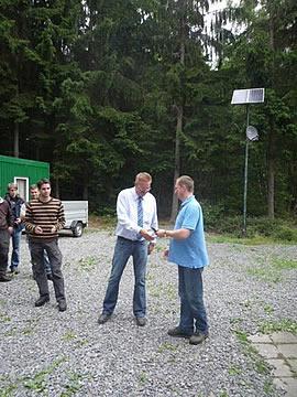 Exkursion der Abschlussklasse der FH Rottenburg in den Kommunalwald von Großheubach und Mönchberg