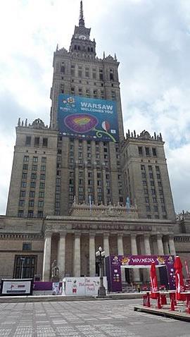Warschau - während der EM