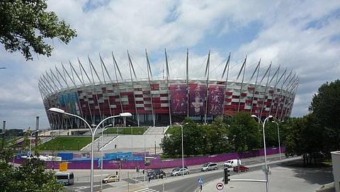EM- Stadion in Warschau