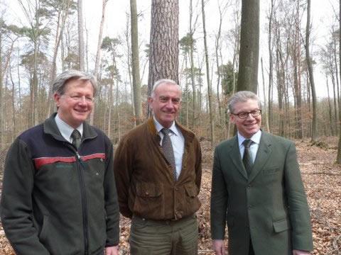 Verabschiedung von Dr. Müller - Leiter des Forstamtes Hanau-Wolfgang
