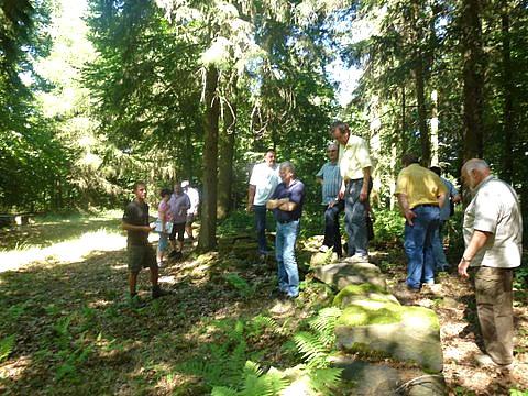 Besichtigung im Gemeindewald Großheubach