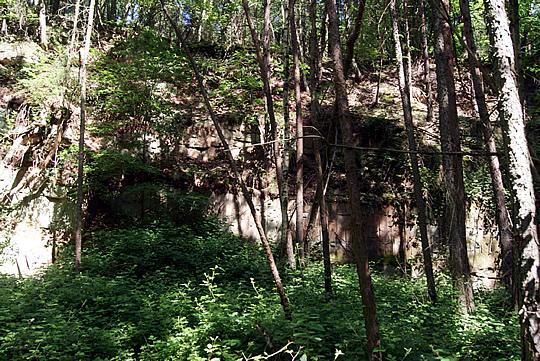 Steinbruch in Großheubach
