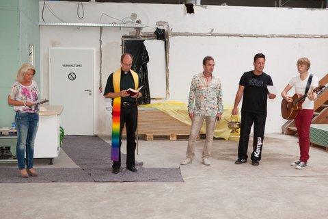 Einweihung der neuen Maschinenhalle der Interforst GmbH