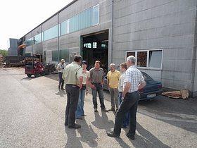 Besuch des Forstamtes Siegen beim Sägewerk Schröpfer, dem Waldmuseum Watterbacher Haus und der Firma Hess GmbH Forstservice und Holzvermarktung