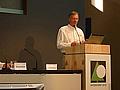 Dr. Hammer bei seinem Fachvortrag zur Tubex-Lösung auf der Interforst 2010