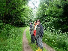 """Exkursion des Forstamtes Hilchenbach nach Baden-Baden - Thema """"Tubex- Verbisschutz"""""""