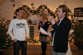 Weihnachtsfeier der Interforst GmbH 2010