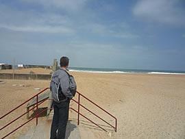 Bild vom Strand
