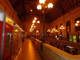 Orkan Klaus - Verhandlungen in Bordeaux - Bild vom Bahnhof