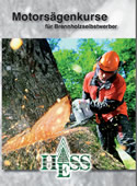 Flyer - Motorsägenkurse für Brennholzselbstwerber  (PDF-Datei: 1,4 MB)