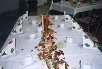 Bild - Dekoration bei der Geburtstagsfeier von Herrn Schell