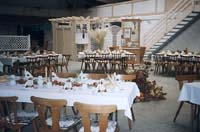 Bild der Dekoration bei der Hochzeit der Fam. Kneisel