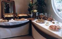 Bild vom Buffet bei der Hochzeit der Fam. Kneisel