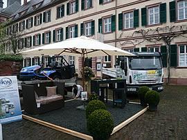 Ausstellung der Hess GmbH beim Frühjahrsmarkt in Amorbach