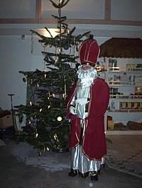 Bild von der Weihnachtsfeier der Hess GmbH 2003