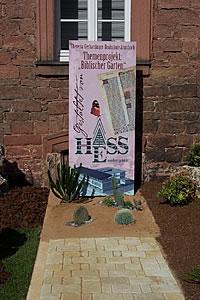 Bild der Ausstellung in Amorbach